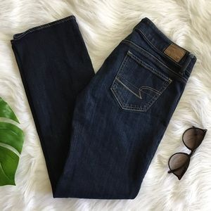 american eagle | straight jeans size 2 short